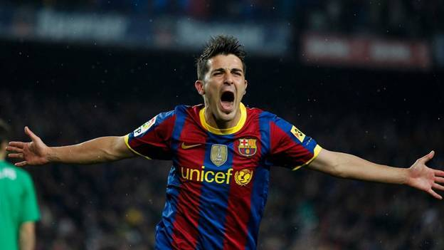 Villa is in the Barcelona top 10 most expensive signings