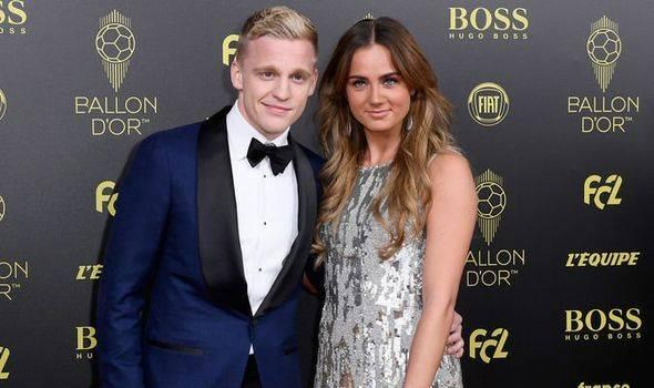 Donny van de Beek girlfriend