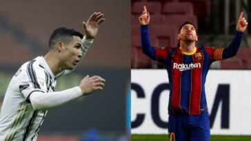 Lionel Messi goes past Cristiano Ronaldo as decade's best footballer