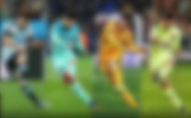 Lionel Messi free-kick technique