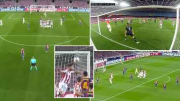 Lionel Messi scores a stunner