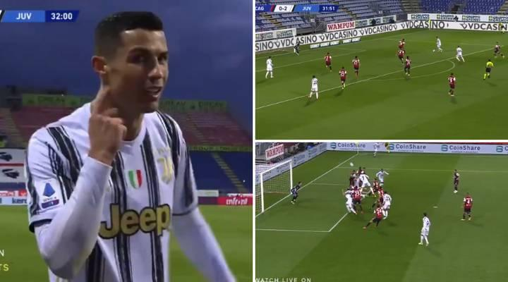 Hat-trick from Cristiano Ronaldo