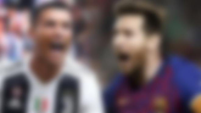 Ronaldo and Leo Messi
