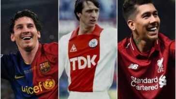 Top 5 Best Footballers who played in the False 9 Position