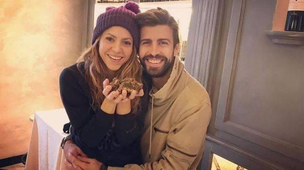 Shakira and her partner Gerard Pique