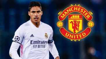 Manchester United look to secure Raphael Varane transfer