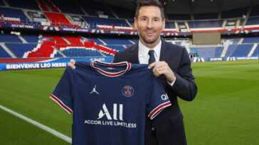 Lionel Messi has joined PSG until 2023
