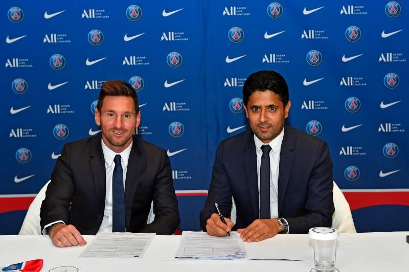 Lionel Messi has joined PSG on a free transfer. Confirmed by PSG.
