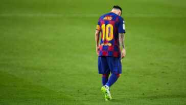Lionel Messi has left Barcelona as confirmed by the club's official website