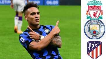 The clubs Lautaro Martinez could possibly join this summer