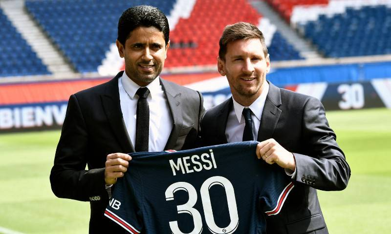 Leo Messi will wear number 30 at PSG